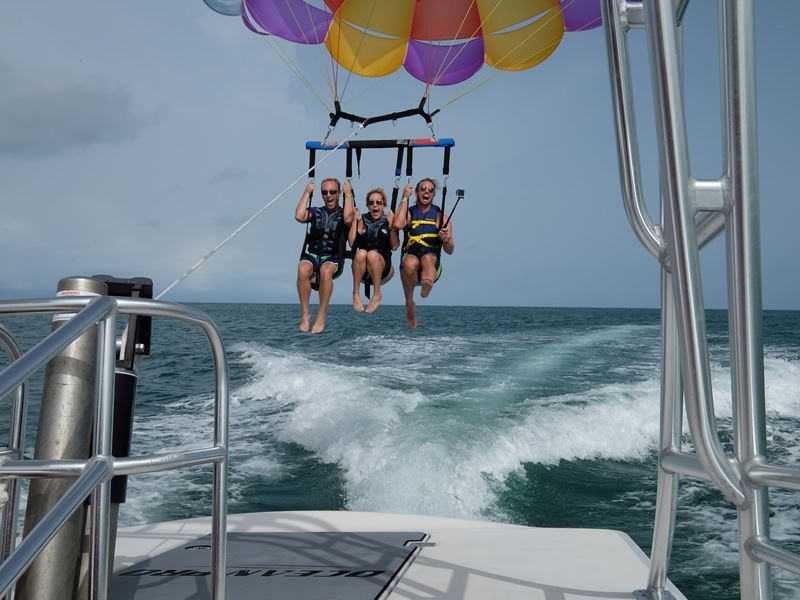 parasailing in fort myers