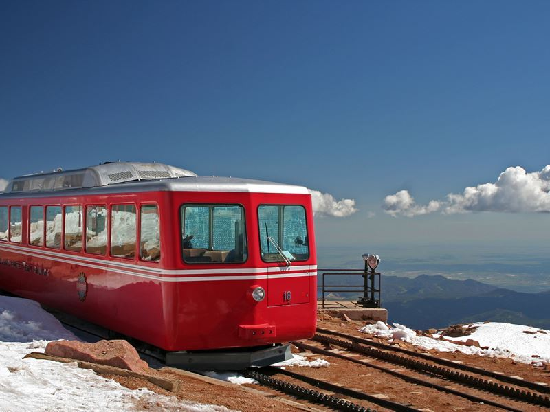 pikes peak railway colorado