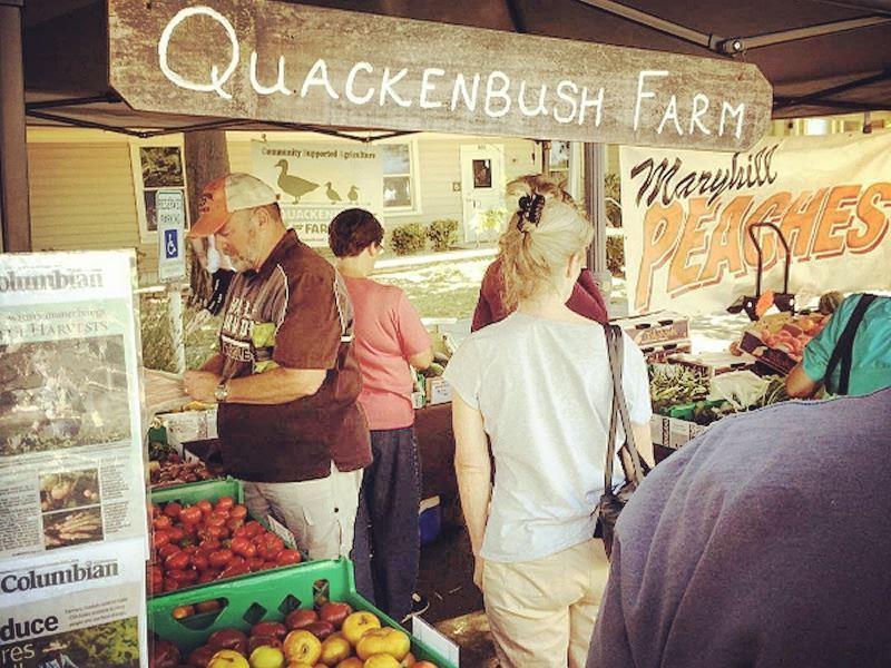 quackenbush farm stall vancouver farmers market
