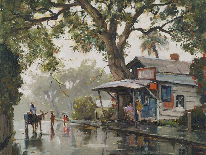 rain in the south artwork telfair