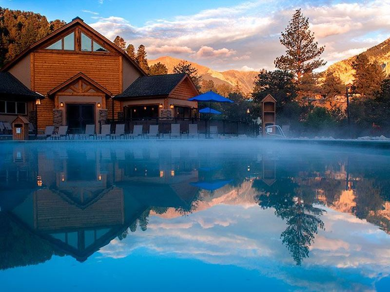 relaxation pool mount princeton colorado
