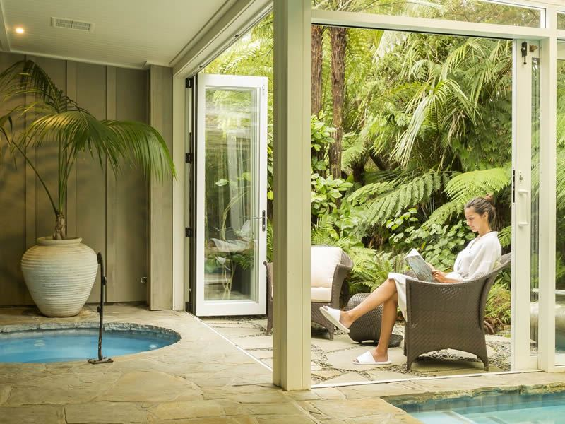 relaxing kauri cliffs spa
