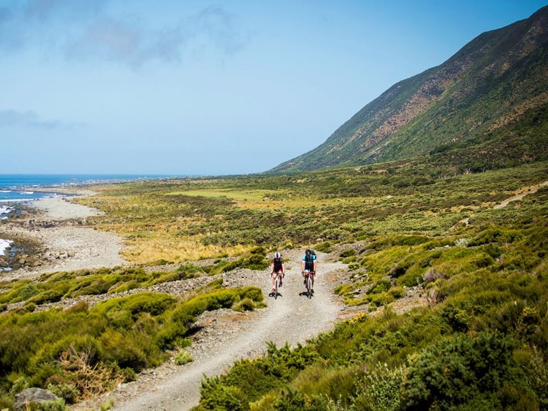 rimutaka cycle trail wairarapa n island new zealand