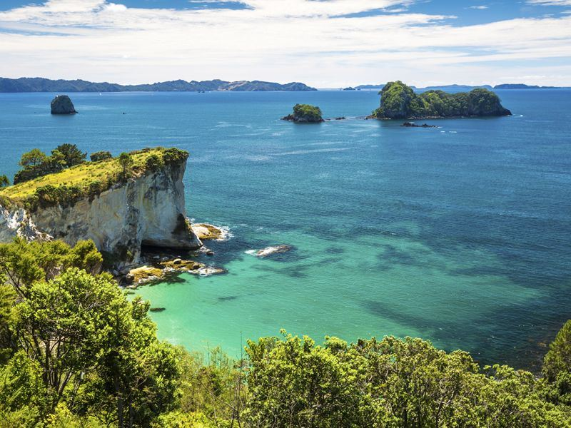 scenic coromandel peninsula