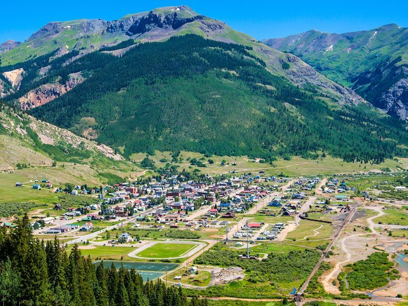 silverton colorado in the summer