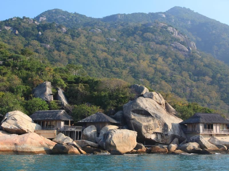 six senses ninh van bay scenery