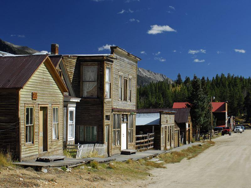 st elmo ghost town colorado