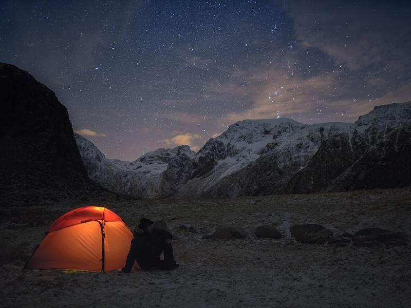 stargazing in kings canyon california