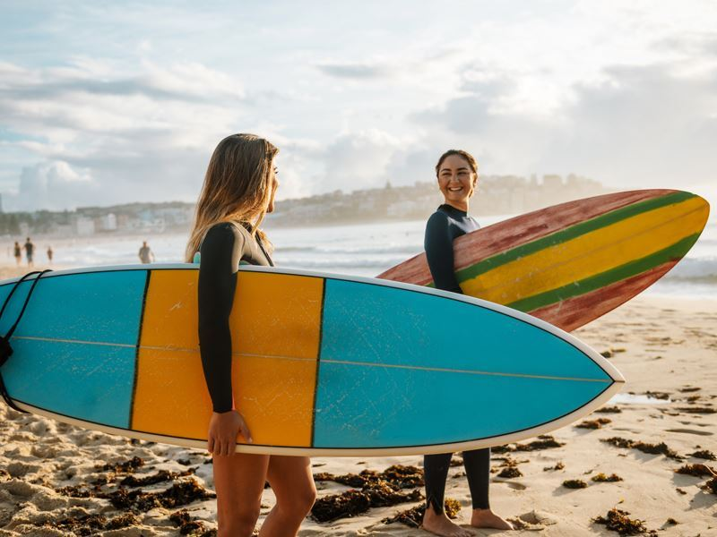 surfer girls in sydney