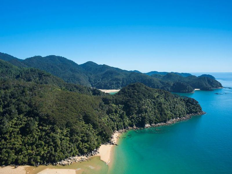 surrounding scenery at abel tasman marahau lodge