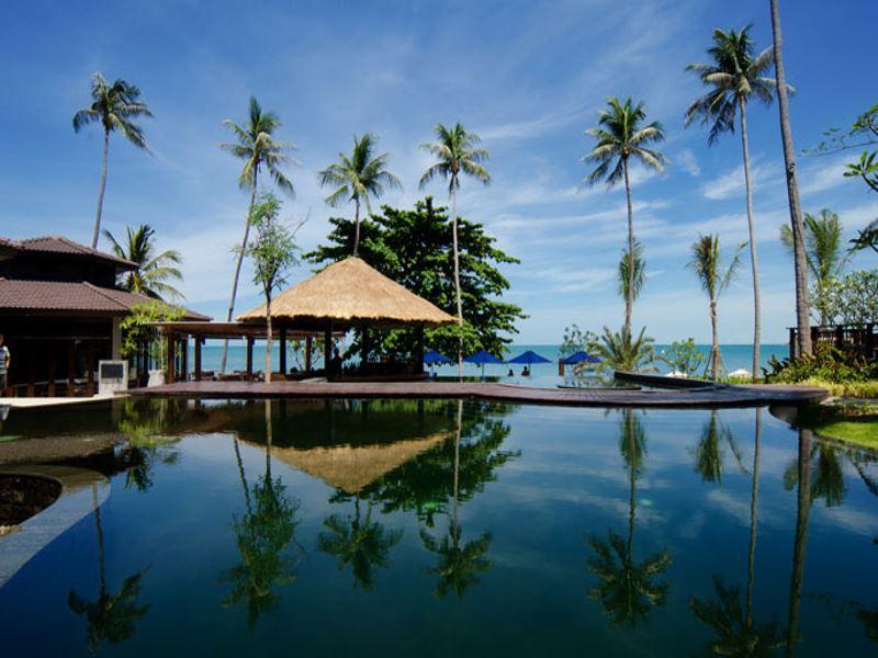 swimming pool at akaryn samui