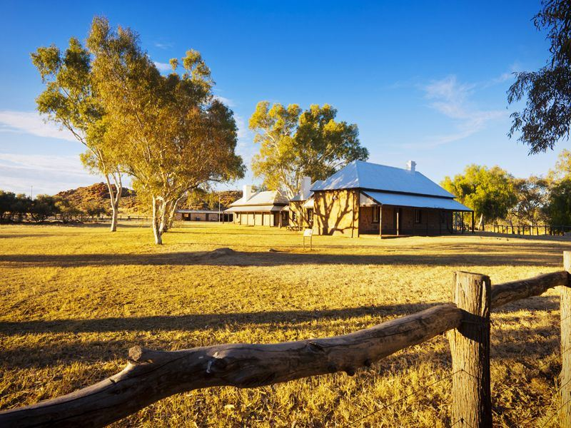 telegraph station in alice springs