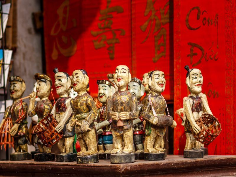 vietnamese water puppets in hanoi