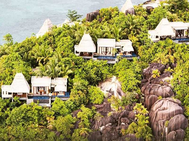 view of maia luxury resort spa seychelles