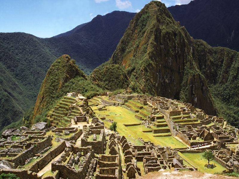 Walk the Machu Picchu trail