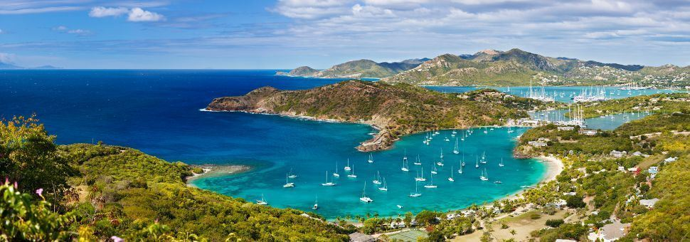 View of English Harbour, Antigua