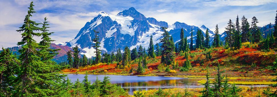 North Cascades National Park, Washington State - Washington State Holidays, USA 2018/2019 American Sky