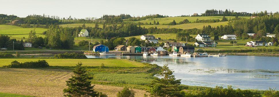 Rural homes, Prince Edward Island