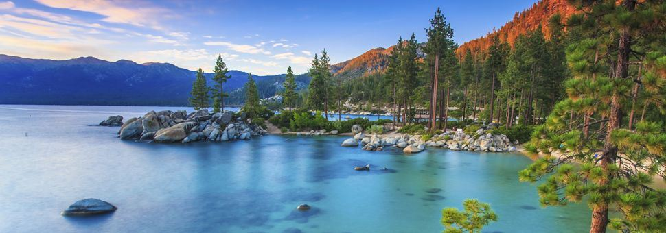 Sand Harbor on the Nevada side of Lake Tahoe