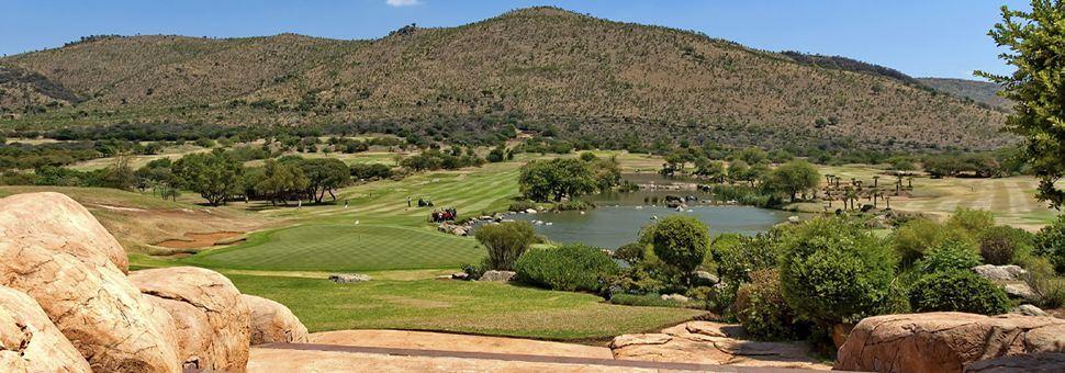 Sun City golf landscapes